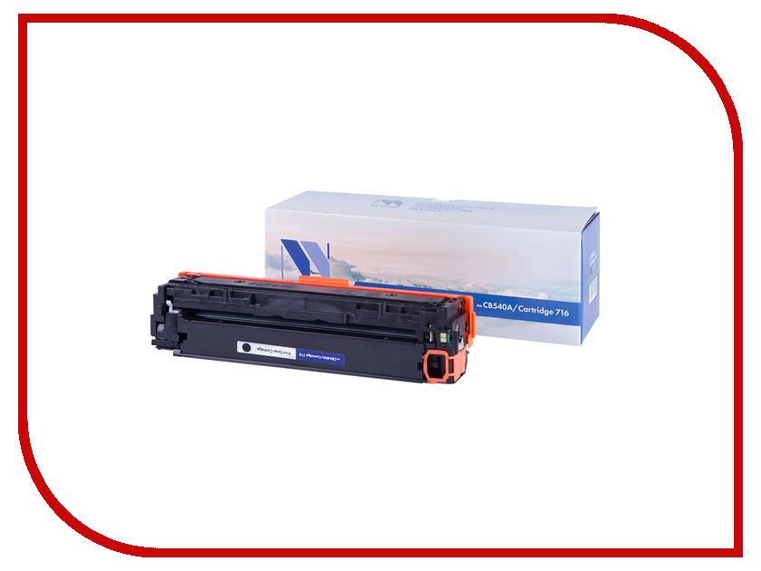 Картридж NV Print CB540A/CRG716 Black для HP CLJ CP1215/1515/1518/i-SENSYS LBP5050/MF8030CN/MF8050CN/CRG716 картридж для принтера nv print для hp cb540a canon 716 black