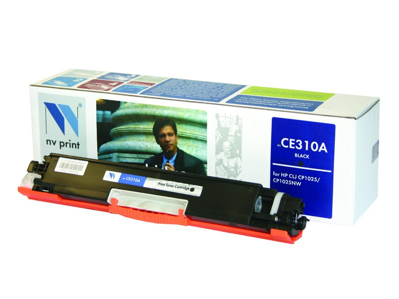 Аксессуар NV Print CE310A Black для CLJ CP1025/CP1025NW