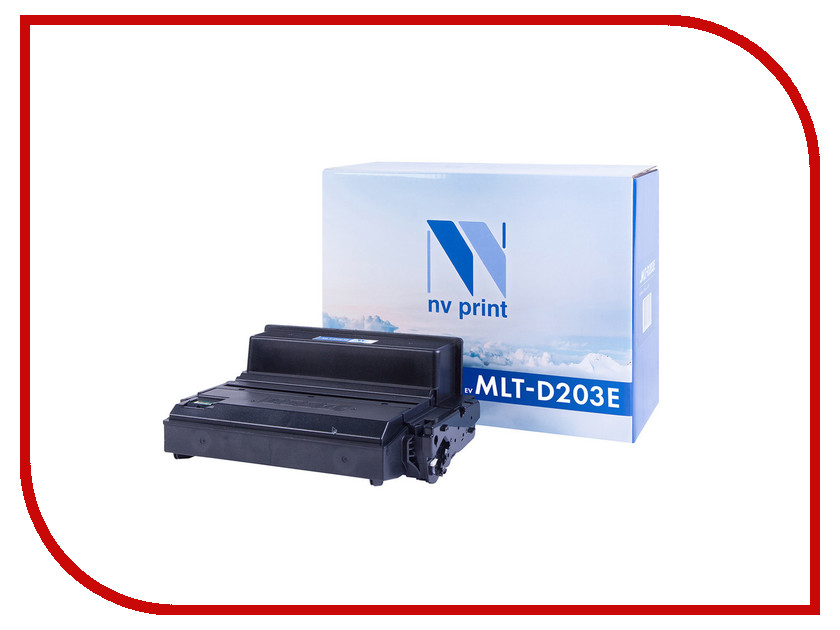 Картридж NV Print MLT-D203E для Samsung SL-M3820D/M4020ND/M3870FD original for teneth cutting plotter sai flexistarter contour cutting plotter flexi starter software could version