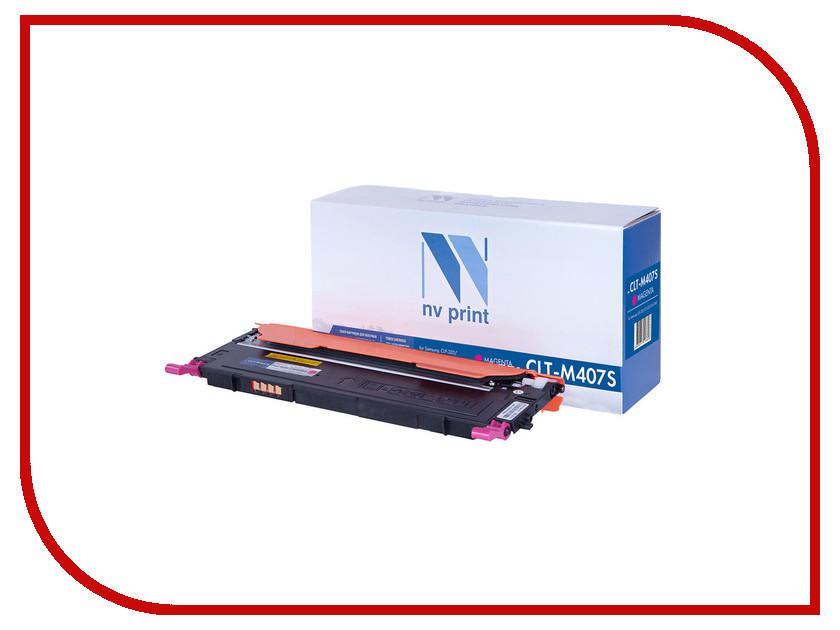 Картридж NV Print CLT-M407S Magenta для Samsung CLP-320/325/320N/325W/CLX-3185/N/FN/FW<br>