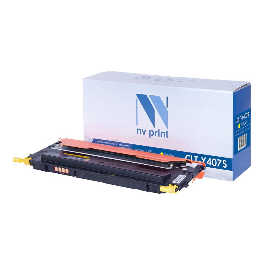 Картридж NV Print CLT-Y407S Yellow для Samsung CLP-320/325/320N/325W/CLX-3185/N/FN/FW
