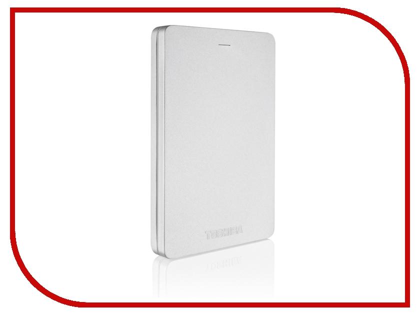 Жесткий диск Toshiba Canvio Alu S3 500Gb Silver HDTH305ES3AA