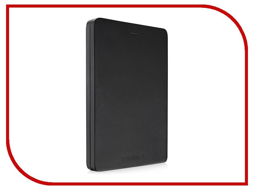 Жесткий диск Toshiba Canvio Alu 1Tb Black HDTH310EK3AA жесткий диск 1tb toshiba 3 5 mars dt01aca100 dt01aca100