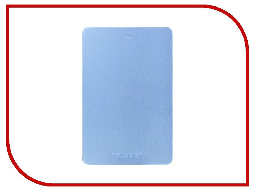 Жесткий диск Toshiba Canvio Alu 1Tb Blue HDTH310EL3AA жесткий диск 1tb toshiba 3 5 mars dt01aca100 dt01aca100