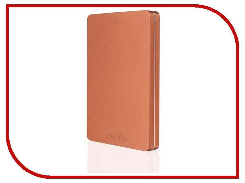 Жесткий диск Toshiba Canvio Alu 1Tb Red HDTH310ER3AA жесткий диск 1tb toshiba 3 5 mars dt01aca100 dt01aca100