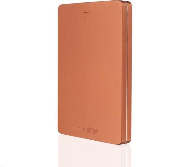 Жесткий диск Toshiba Canvio Alu S3 1Tb Red HDTH310ER3AA
