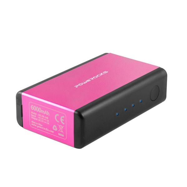 Аккумулятор Powerocks Magic Cube MC-PR-2AB 6000mAh для iPhone / iPod / iPad Pink