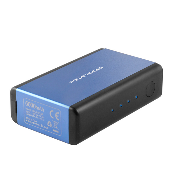Аккумулятор Powerocks Magic Cube MC-PR-4A 6000mAh Blue