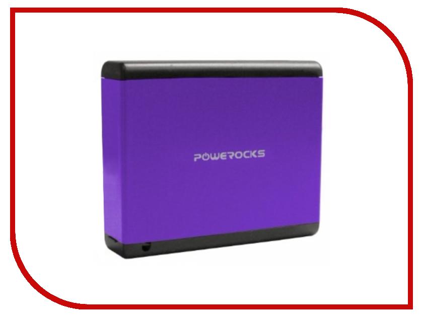 Аккумулятор Powerocks Magic Cube MC-PR-4A 9000mAh Purple<br>
