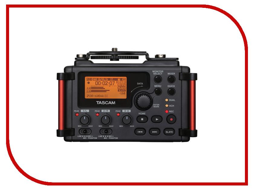 Диктофон Tascam DR-60DMK2 студийные мониторы tascam vl s3bt
