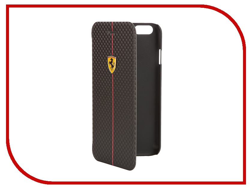 Аксессуар Чехол CG Mobile Ferrari Formula One Booktype для iPhone 6 Black FEFOCFLBKP6BL<br>