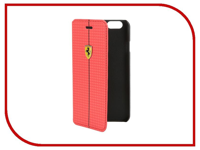 Аксессуар Чехол CG Mobile Ferrari Formula One Booktype для iPhone 6 Red FEFOCFLBKP6RE<br>
