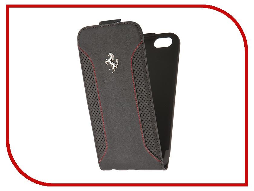 Аксессуар Чехол CG Mobile Ferrari F12 Flip для iPhone 6 Black FEF12FLP6BL<br>