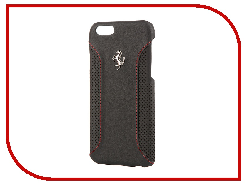 Аксессуар Чехол CG Mobile Ferrari F12 Hard для iPhone 6 Black FEF12HCP6BL<br>