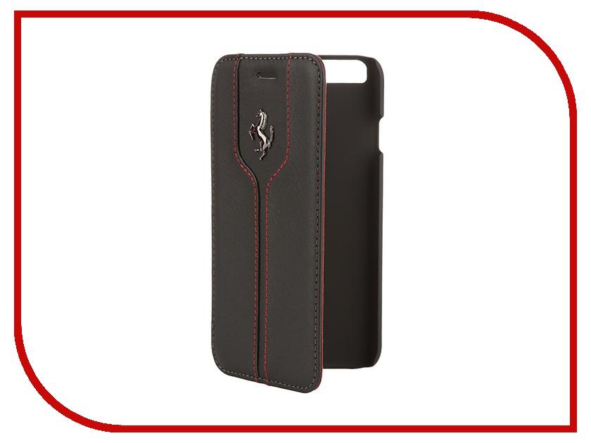 Аксессуар Чехол CG Mobile Ferrari Montecarlo Booktype для iPhone 6 Black FEMTFLBKP6BL<br>