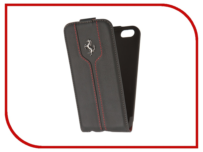 Аксессуар Чехол CG Mobile Ferrari Montecarlo Flip для iPhone 6 Black FEMTFLP6BL<br>