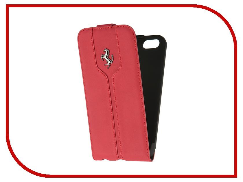 Аксессуар Чехол CG Mobile Ferrari Montecarlo Flip для iPhone 6 Red FEMTFLP6RE<br>