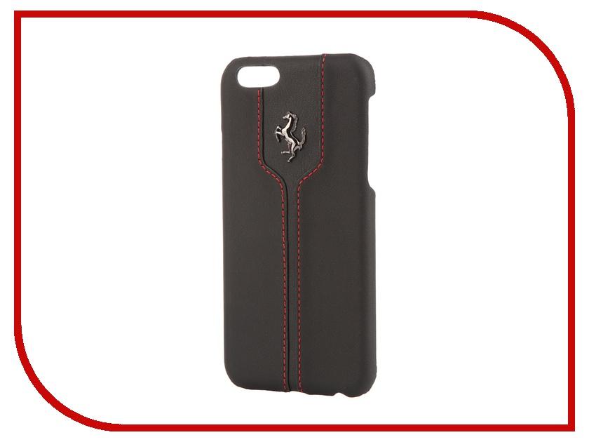Аксессуар Чехол CG Mobile Ferrari Montecarlo Hard для APPLE iPhone 6 Black FEMTHCP6BL<br>