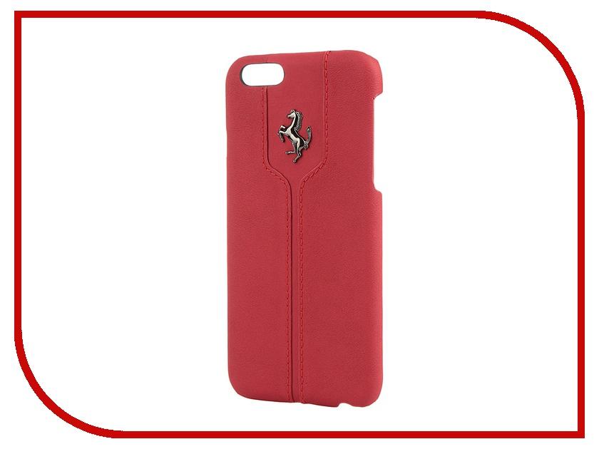 Аксессуар Чехол CG Mobile Ferrari Montecarlo Hard для iPhone 6 Red FEMTHCP6RE<br>