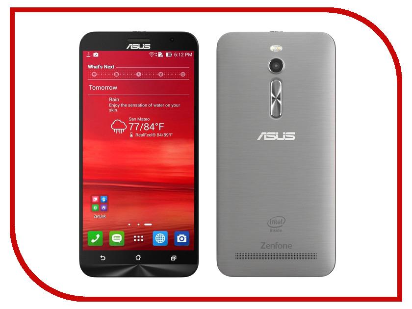 Сотовый телефон ASUS ZenFone 2 ZE551ML 4Gb RAM 32Gb Silver<br>