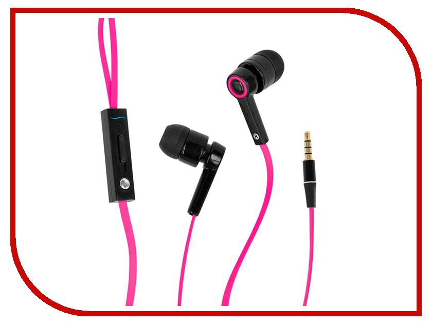 Гарнитура Hi-Fun Hi-Earphones V Pink гарнитура hi fun hi deejay dark denim