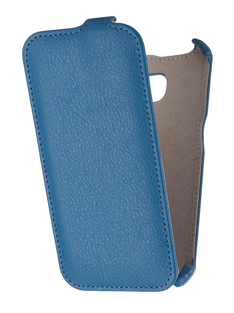 Аксессуар Чехол Samsung Galaxy S6 Edge Gecko Blue GG-F-SGS6EDGE-DBLU<br>