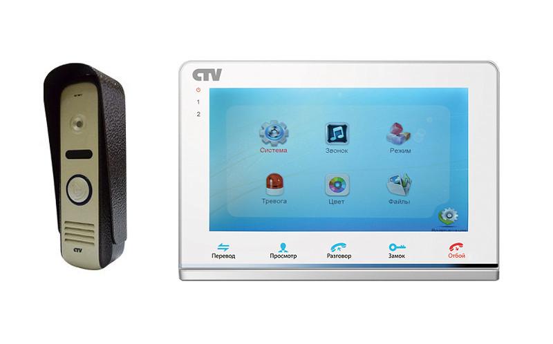Видеодомофон Polyvision PVD-A10M2 Black