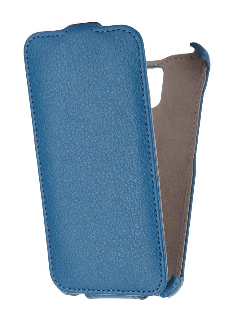 Аксессуар Чехол Lenovo S580 Gecko Blue GG-F-LENS580-DBLU<br>