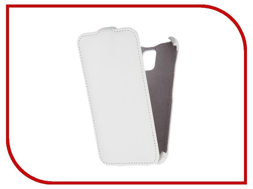 Аксессуар Чехол Lenovo S580 Gecko White GG-F-LENS580-WH<br>