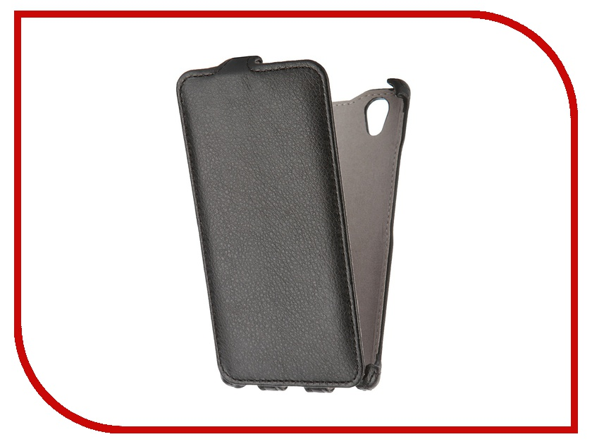 Аксессуар Чехол Lenovo P70 Gecko Black GG-F-LENP70-BL<br>
