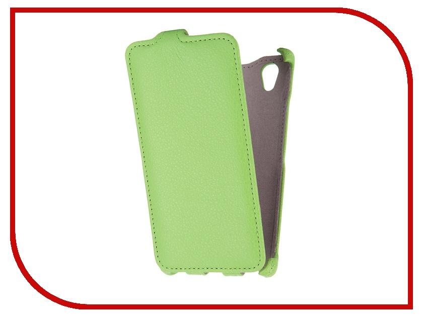 Аксессуар Чехол Lenovo P70 Gecko Green GG-F-LENP70-GR<br>