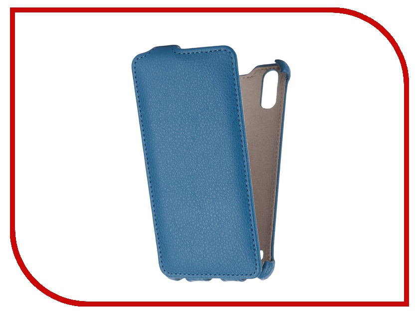 Аксессуар Чехол Lenovo K3 Gecko Blue GG-F-LENK3ML-DBLU<br>