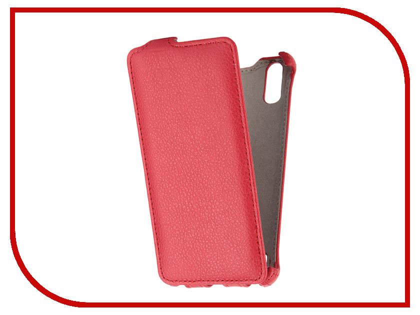 Аксессуар Чехол Lenovo K3 Gecko Red GG-F-LENK3ML-RED<br>