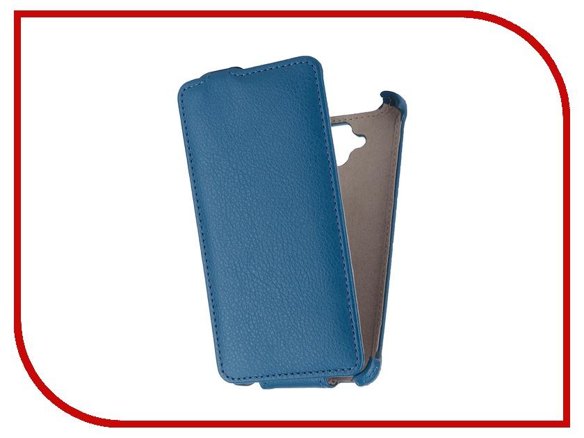 Аксессуар Чехол Lenovo A536 Gecko Blue GG-F-LENA536-DBLU