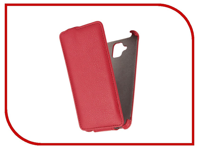 Аксессуар Чехол Lenovo A536 Gecko Red GG-F-LENA536-RED<br>