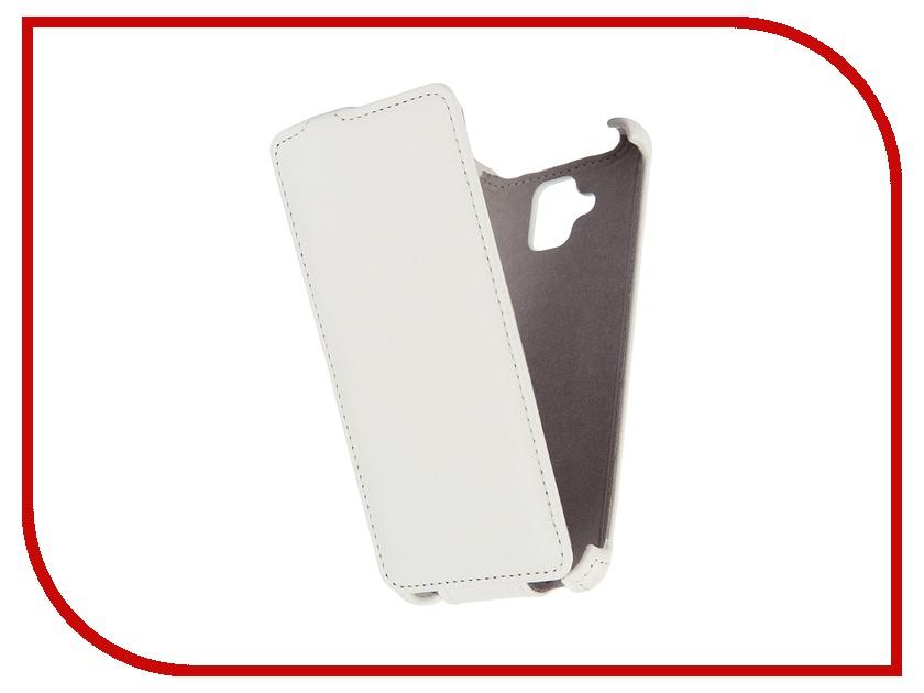 Аксессуар Чехол Lenovo A536 Gecko White GG-F-LENA536-WH