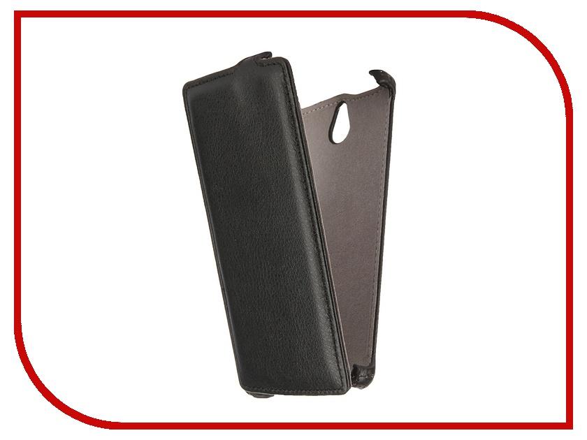 Аксессуар Чехол Highscreen Boost 2 Gecko Black GG-F-HIGHB2SE-BL