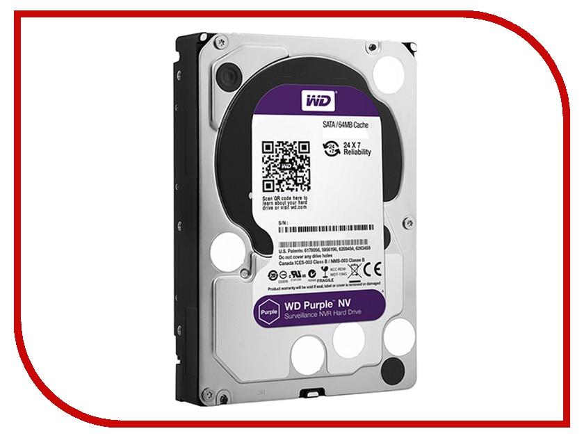 Жесткий диск 4Tb - Western Digital Purple NV WD4NPURX