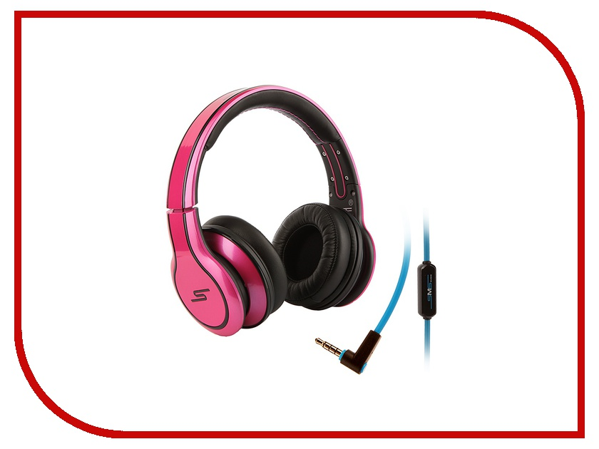 Гарнитура SMS Audio Street by 50 Wired Over-Ear Magenta SMS-WD-MAG<br>