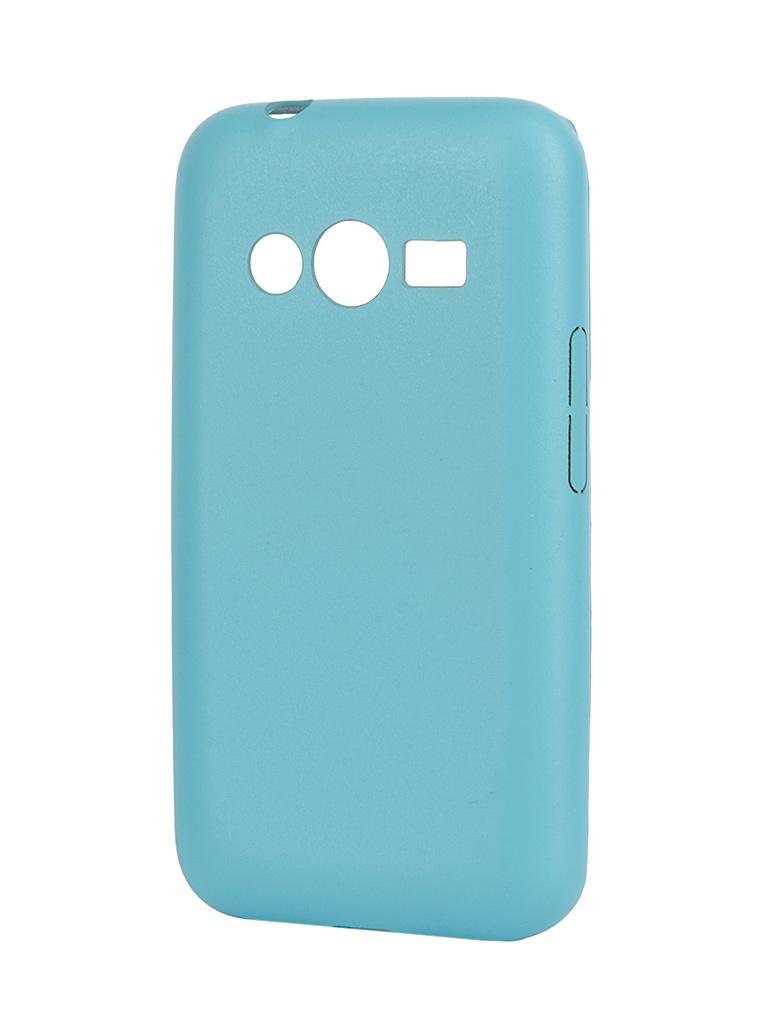 Аксессуар Чехол-накладка Samsung SM-G313 Galaxy Ace 4/Ace NXT Aksberry Slim Soft Turquoise