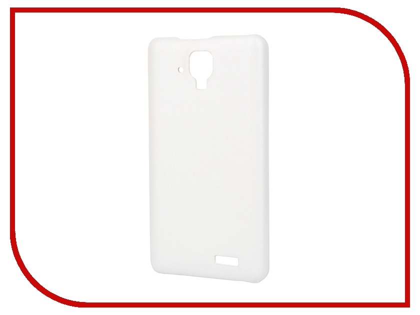 Аксессуар Чехол-накладка Lenovo A536 Aksberry White аксессуар чехол lenovo a5000 aksberry black