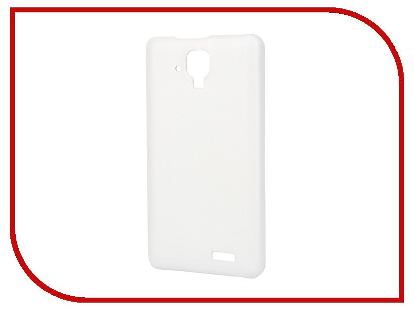 все цены на Аксессуар Чехол-накладка Lenovo A536 Aksberry White онлайн