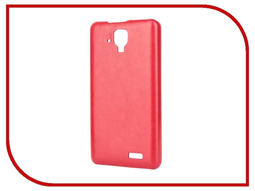 Аксессуар Чехол-накладка Lenovo A536 Aksberry Red аксессуар чехол lenovo a5000 aksberry black