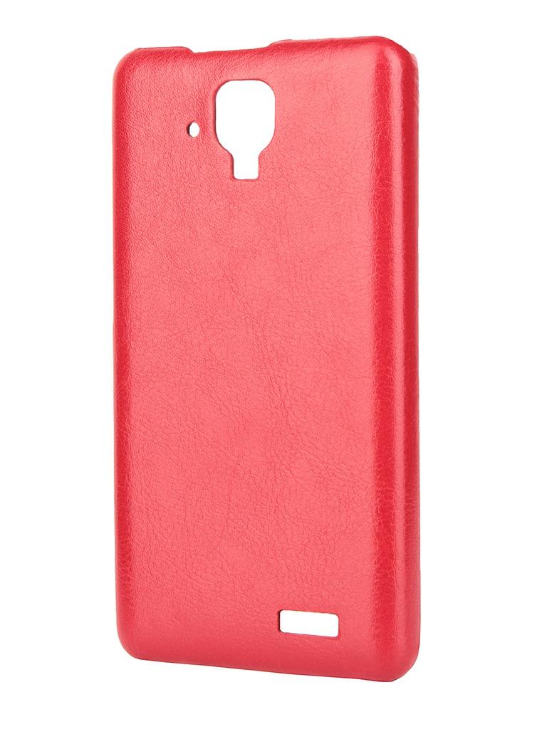 Аксессуар Чехол-накладка Lenovo A536 Aksberry Red