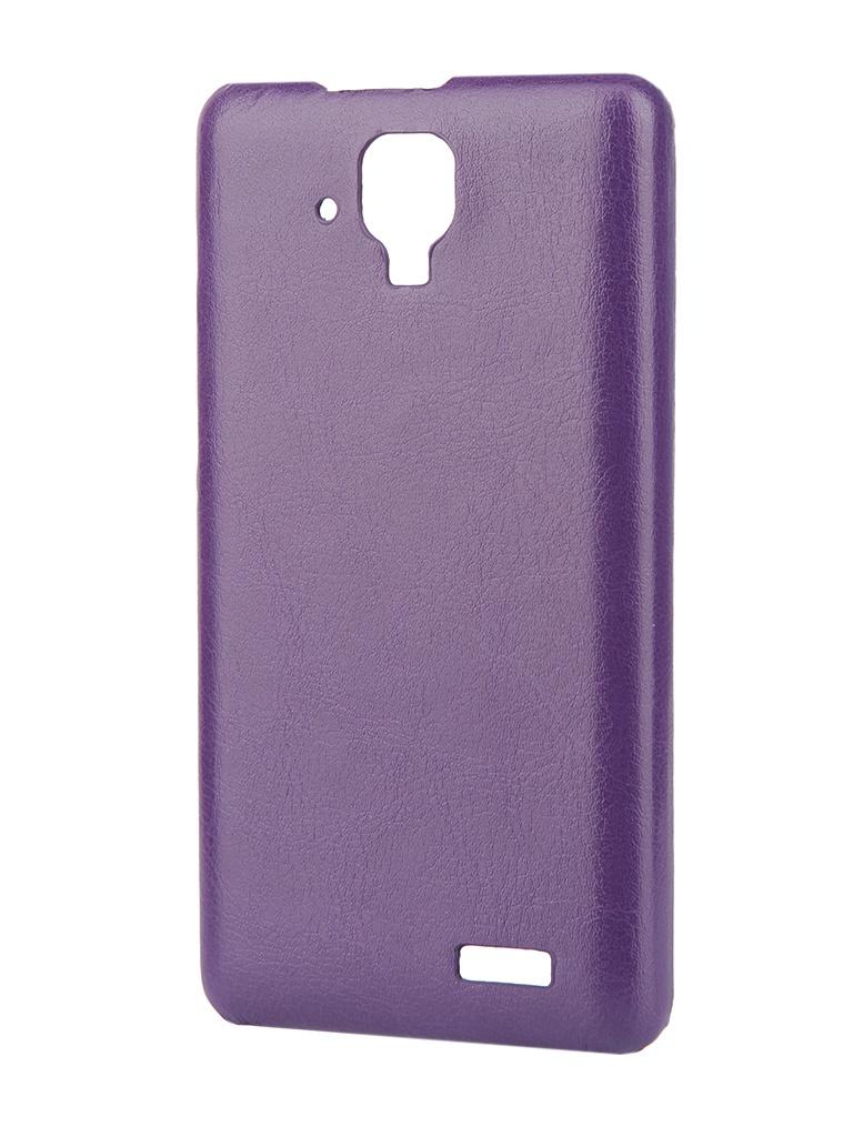 Аксессуар Чехол-накладка Lenovo A536 Aksberry Violet
