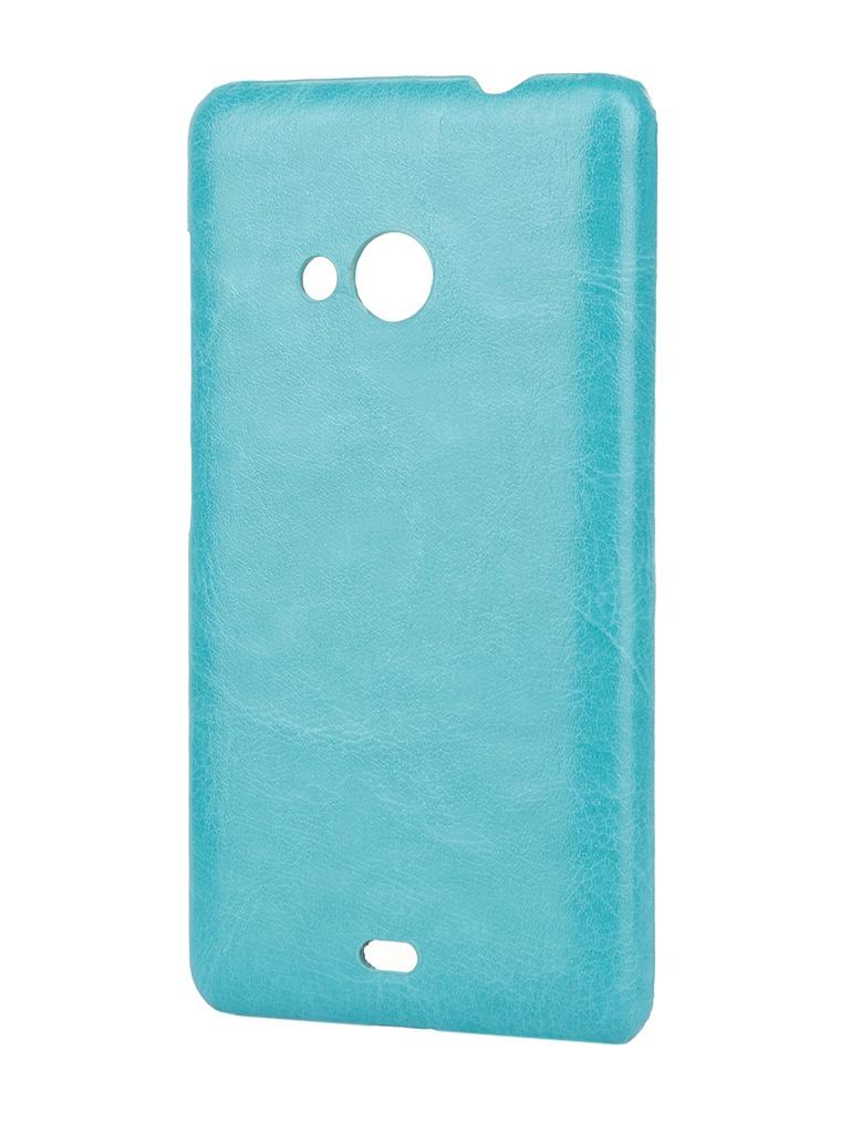 Аксессуар Чехол-накладка Nokia Lumia 532/532 Dual Sim Aksberry Turquoise