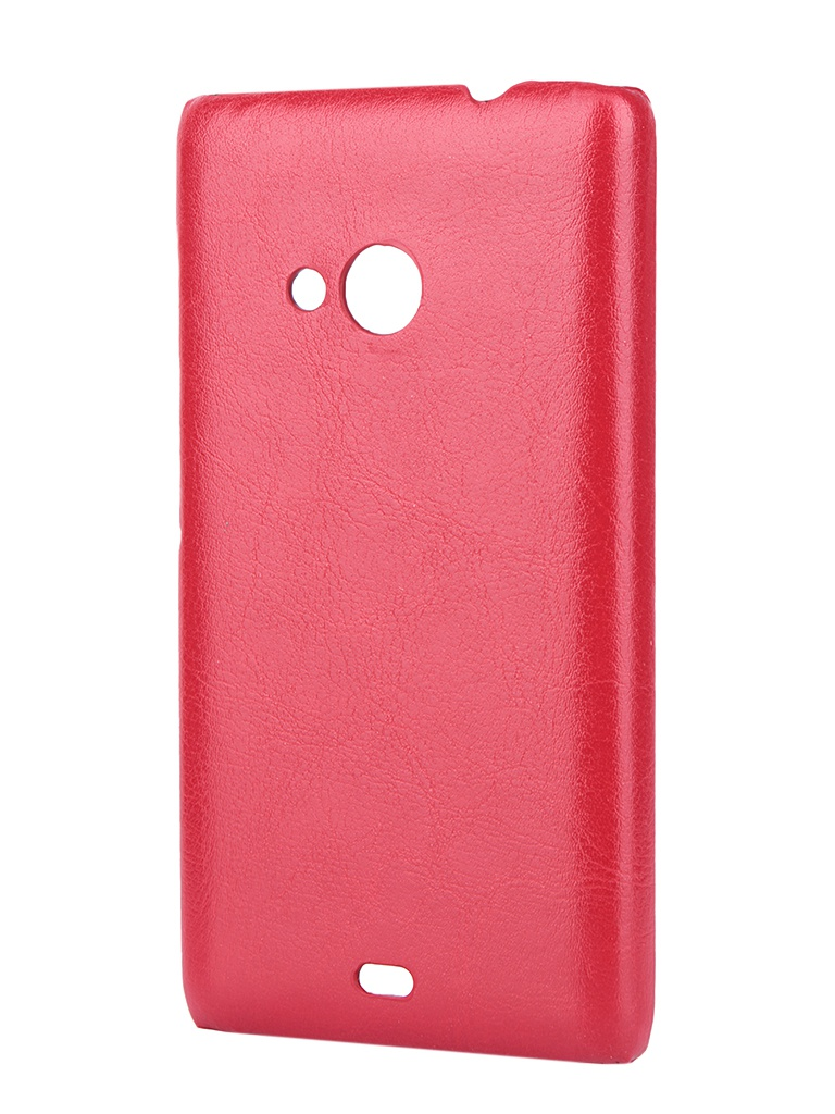 Аксессуар Чехол-накладка Nokia Lumia 532/532 Dual Sim Aksberry Red