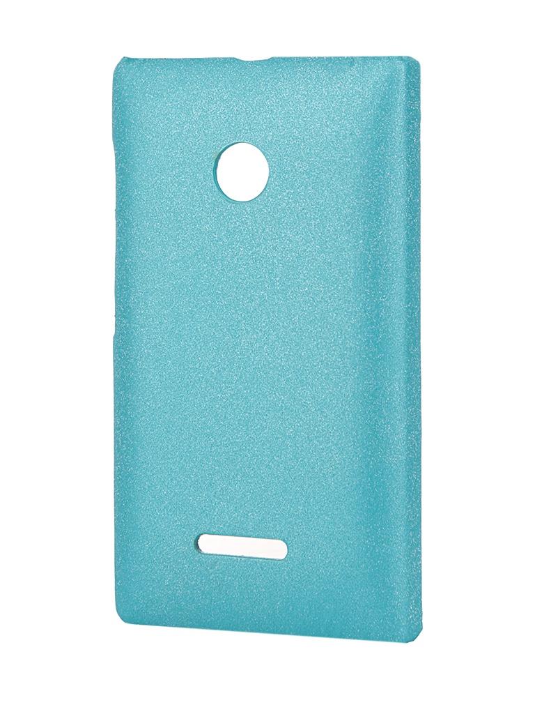 Аксессуар Чехол-накладка Nokia Lumia 535 Aksberry Turquoise