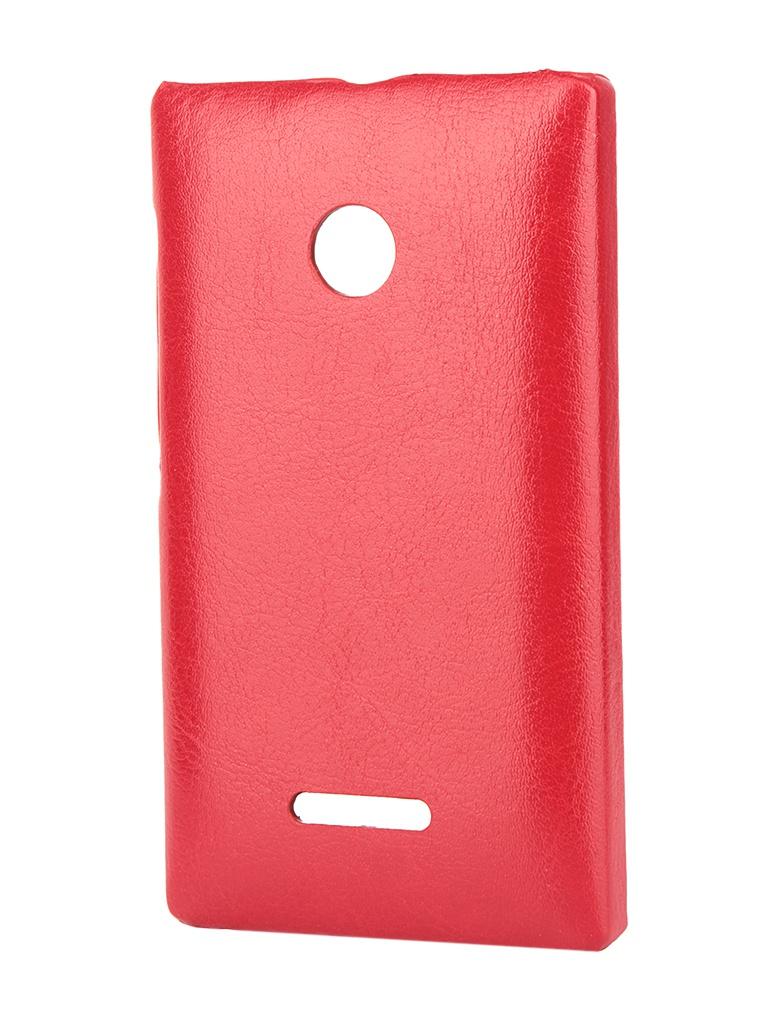 Аксессуар Чехол-накладка Nokia Lumia 535 Aksberry Red