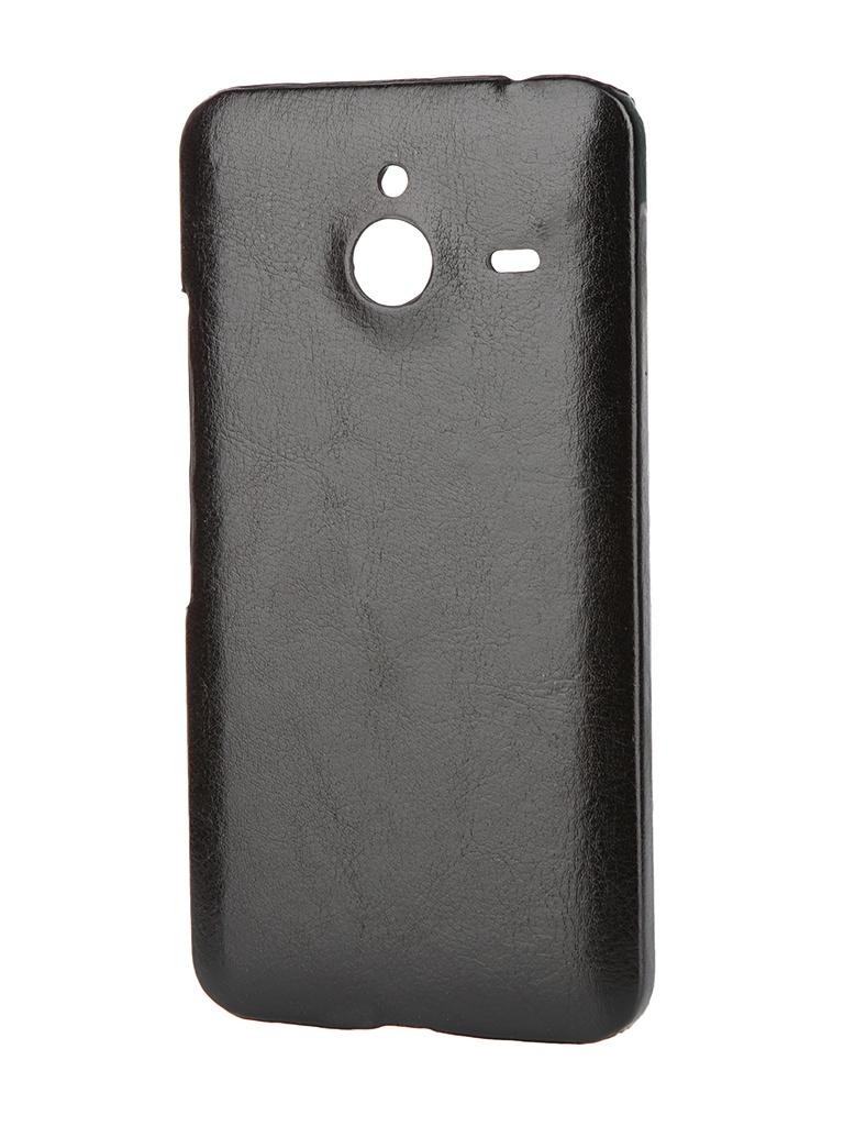 Аксессуар Чехол-накладка Nokia Lumia 640 XL/640 XL Dual Sim Aksberry Black
